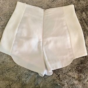 French Connection Shorts - FRENCH CONNECTION high waisted shorts
